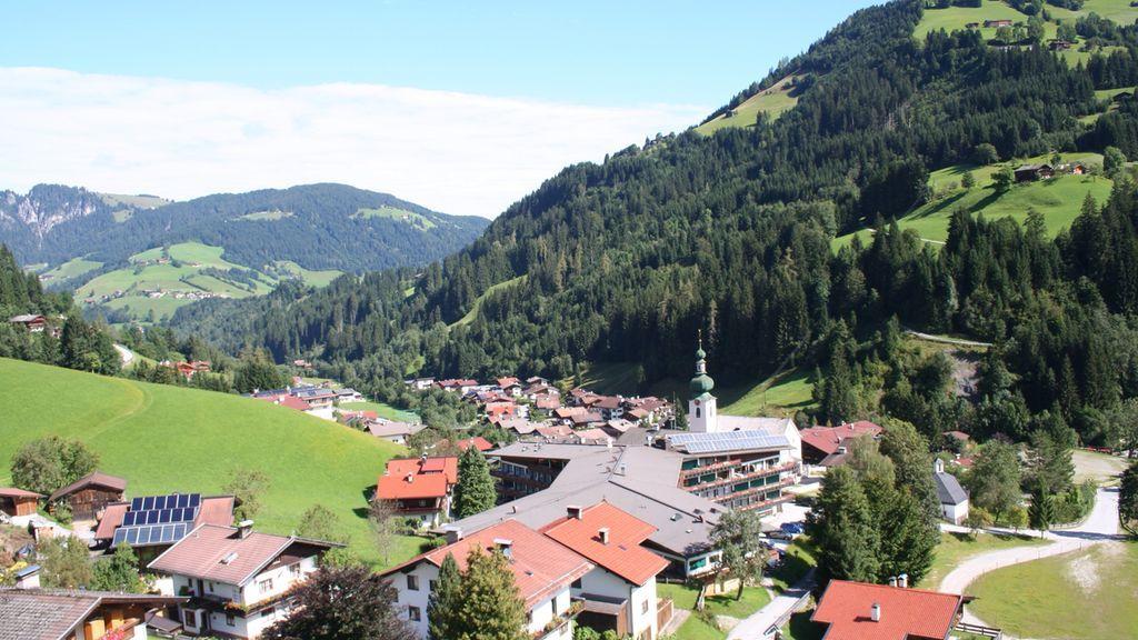 Auffach Wildschönau Dorf Sommer - Wildschoenau - Auffach Tirol