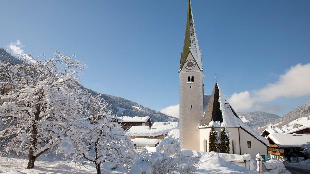 Kirche Niederau Wildschönau - Foto: Wildschönau Tourismus wildschoenau.com