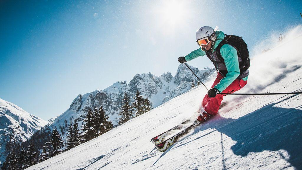 Skifahren auf der Axamer Lizum - Copyright: Axamer Lizum - Axamer Lizum Axams