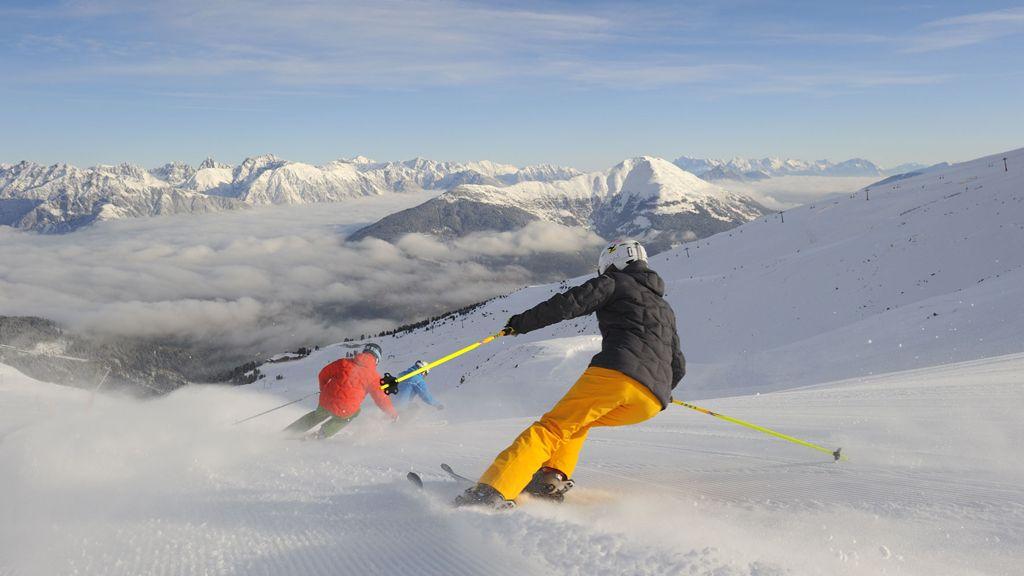 Skifahren in Serfaus Fiss Ladis - Fotoquelle: Sepp Mallaun - Serfaus-Fiss-Ladis - Tirols Skidimension