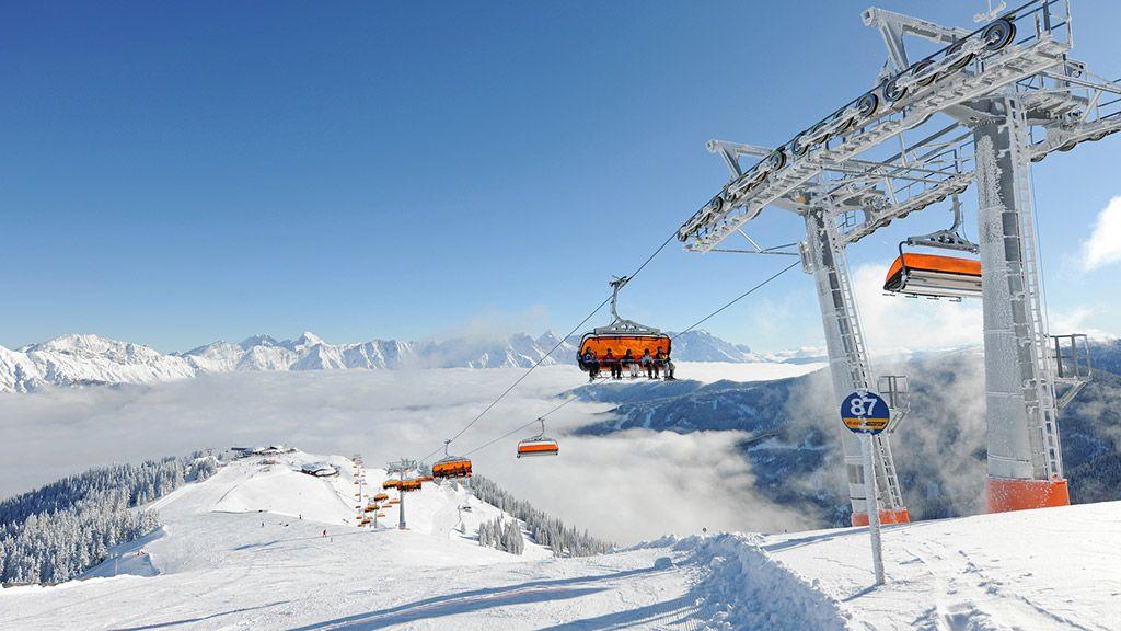 Skifahren am Asitz - © Saalfelden-Leogang/Foto Bauer - Skicircus Saalbach Hinterglemm Leogang Saalbach-Hinterglemm