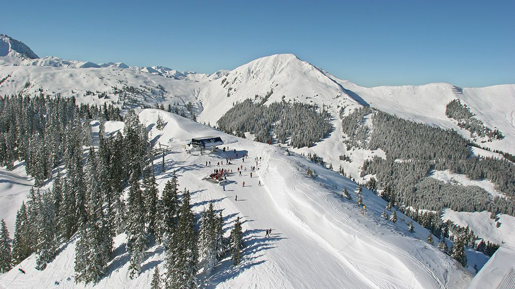 Bergstation Talsen - © Bergbahn AG Kitzbühel - Kitzbuehel - Kirchberg - Pass Thurn Kitzbuehel