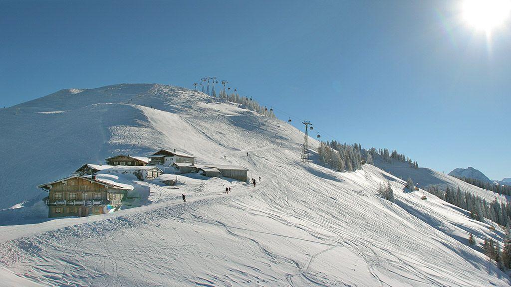 Fleckalm - © Bergbahn AG Kitzbühel - Kitzbuehel - Kirchberg - Pass Thurn Kitzbuehel
