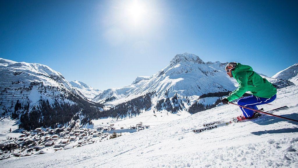 Abfahrt nach Lech - © Lech Zürs Tourismus/Christoph Schöch - Lech Zuers - Ski Arlberg Lech am Arlberg
