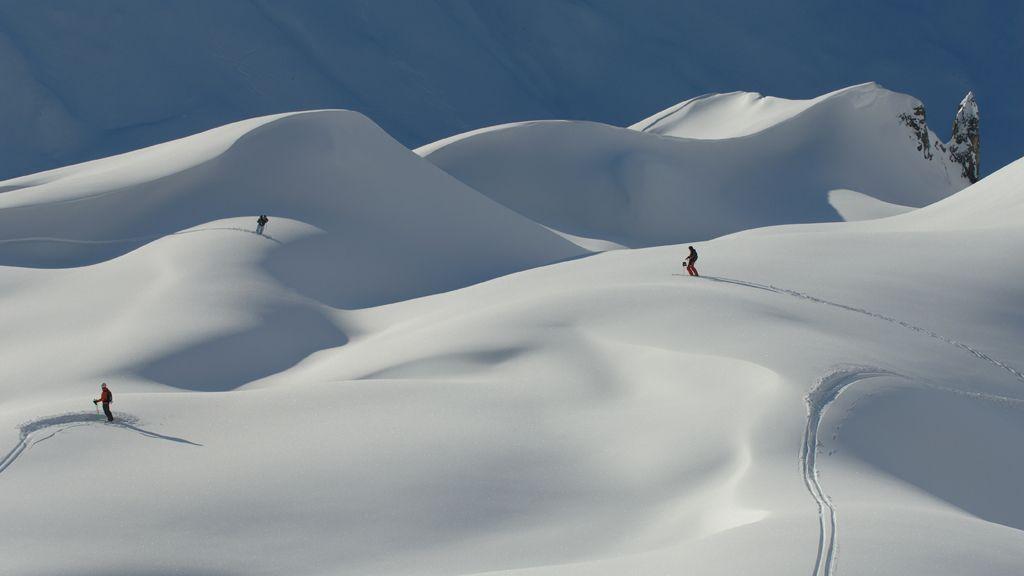 Schnee soweit das Auge reicht - Foto: TVB St. Anton am Arlberg / Fotograf Josef Mallaun - St. Anton / St. Christoph / Stuben - Ski Arlberg St. Anton am Arlberg