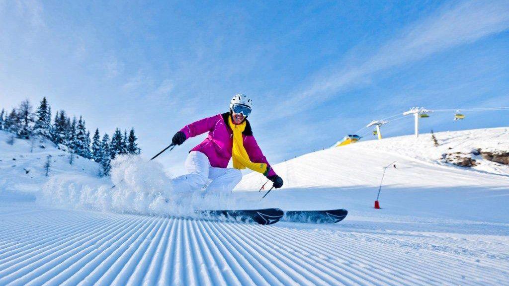 beste Schneeverhältnisse in Schladming - (C) ikarus.cc - 4-Berge-Skischaukel Schladming - Dachstein Tauern Pichl-Reiteralm