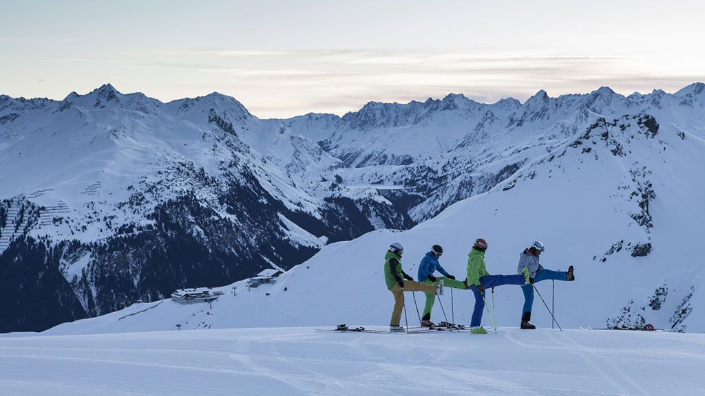 Skifahren im Montafon - Foto: Silvretta Montafon, Fotograf: Daniel Zangerl - Silvretta Montafon  Gaschurn-Partenen