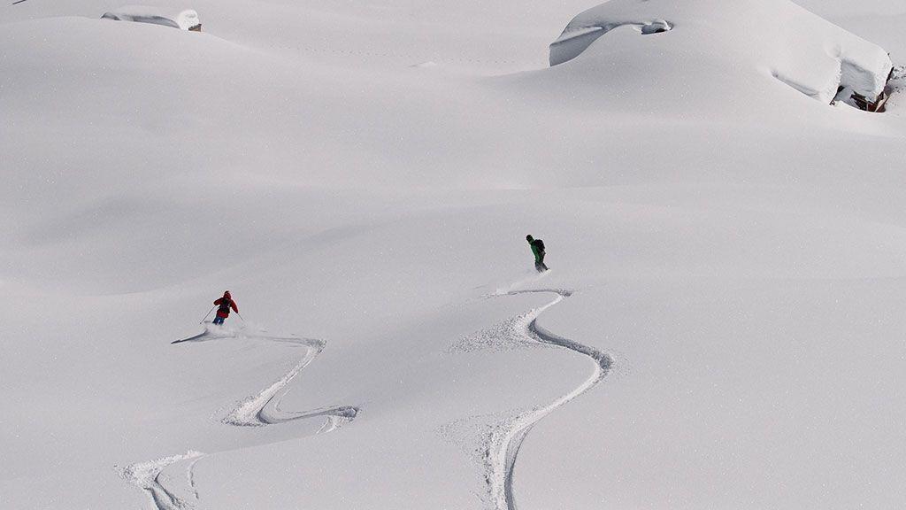 Freeriden - Foto: Silvretta Montafon - Silvretta Montafon  Gaschurn-Partenen