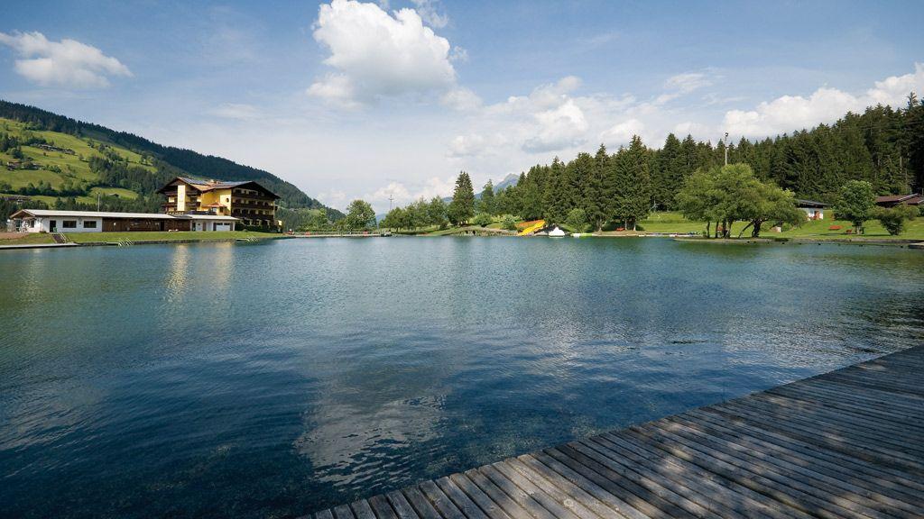 Badesee Kirchberg - Foto: Kitzbüheler Alpen /Kurt Tropper - Badesee Kirchberg Kirchberg in Tirol