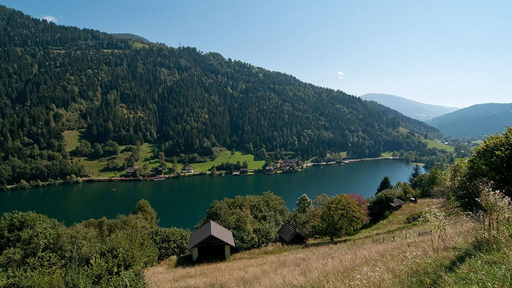 Afritzer See - Lacul Afritz Feld am See