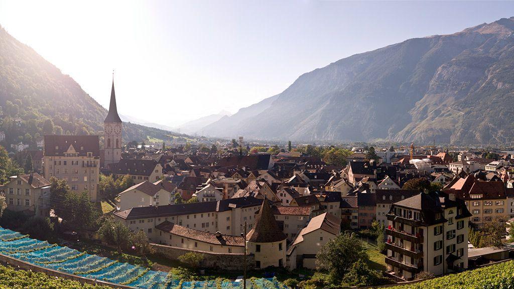 Die Alpenstadt Chur - © Chur Tourismus/Andrea Badrutt