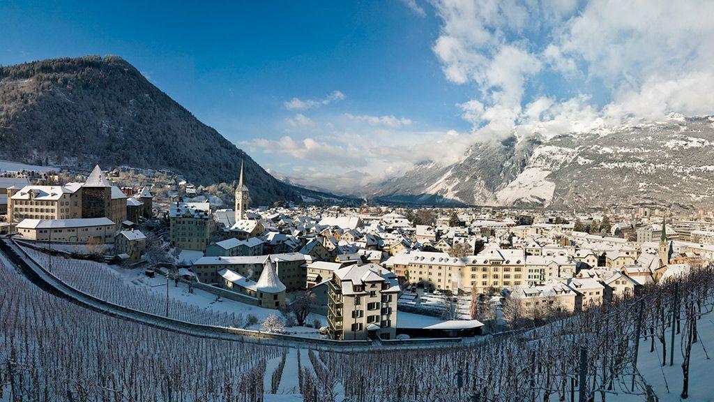Chur im Winter - © Chur Tourismus/Andrea Badrutt