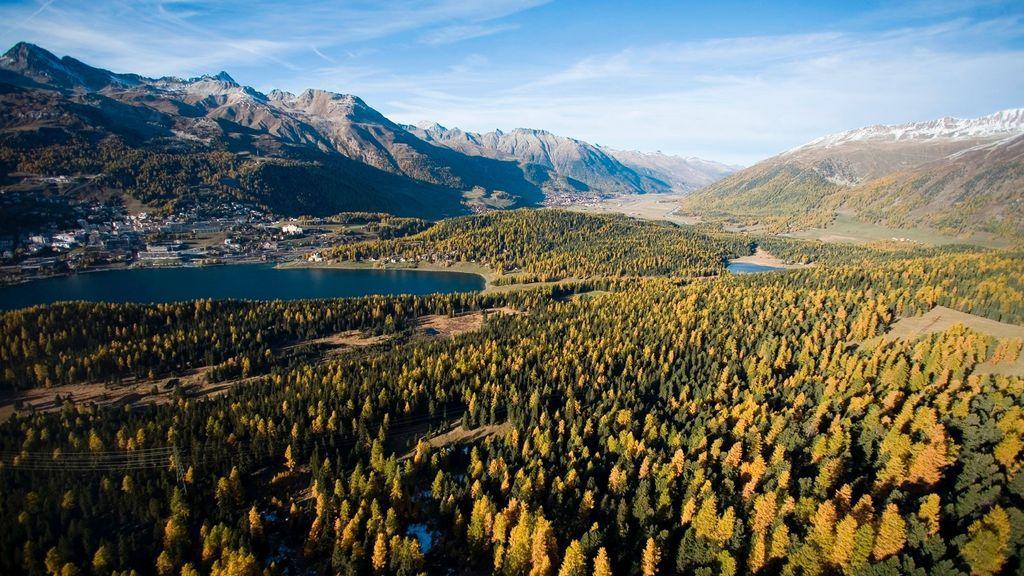 St. Moritz im Herbst - © Graubünden Ferien/ Andrea Badrutt