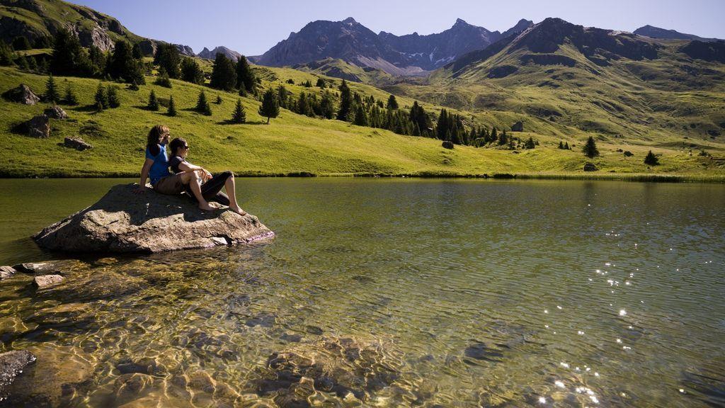 Lais da Flix oberhalb Savognin - © Graubünden Ferien/Andrea Badrutt