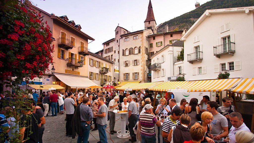 Altstadt - © Christian Pfammatter/Visp Tourismus