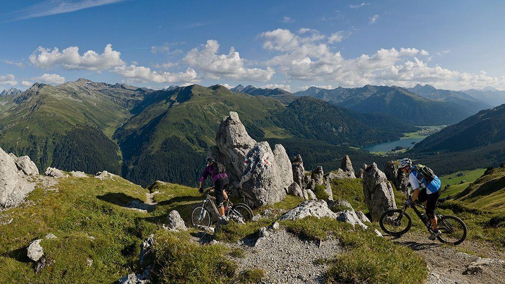 Mountainbiketour - © Destination Davos Klosters
