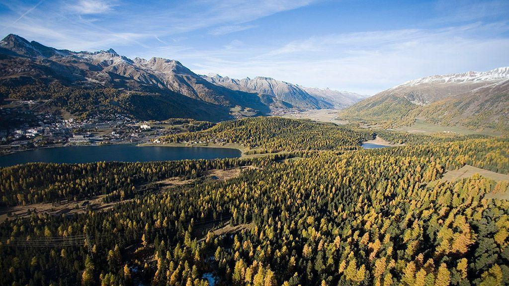 St. Moritz im Herbst - © Graubünden Ferien/Andrea Badrutt