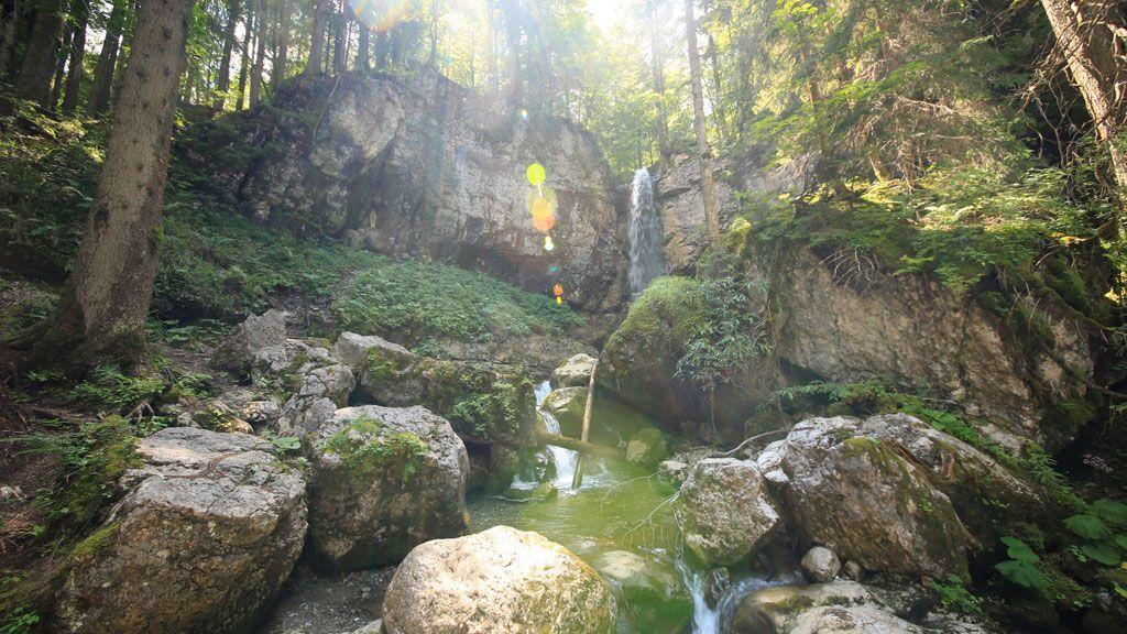 Sibliwasserfall - Foto: Egbert Krupp
