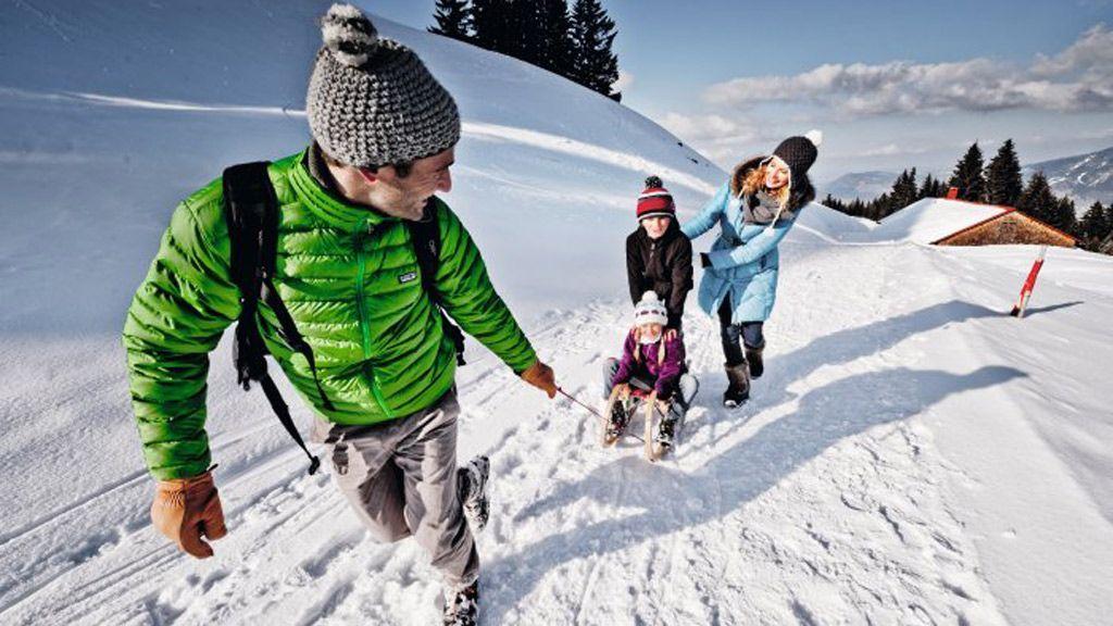 Rodelspaß mit der ganzen Familie - © Urlaubsregion Allgäu
