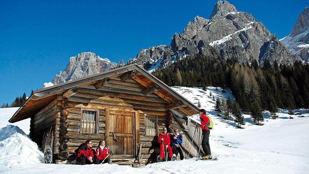Entspannung im Schnee - © Trentino Sviluppo – Dipartimento Turismo e Promozione/Silvano Angelani - Trentino