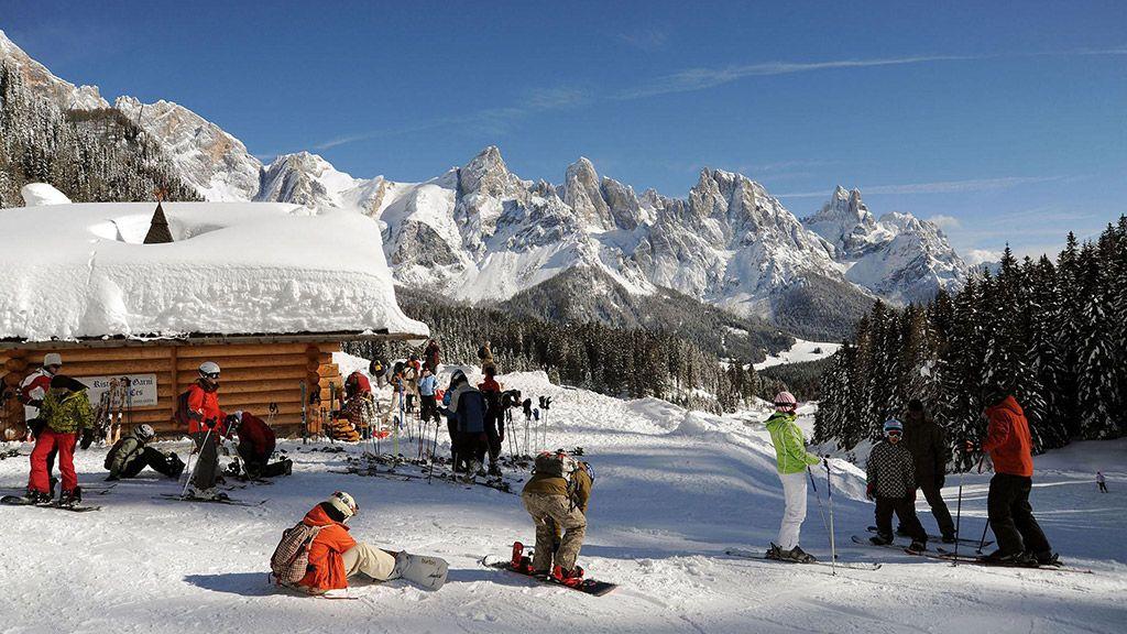 Skifahren in San Martino © Trentino Sviluppo – Dipartimento Turismo e Promozione/Silvano Angelani - Trentino