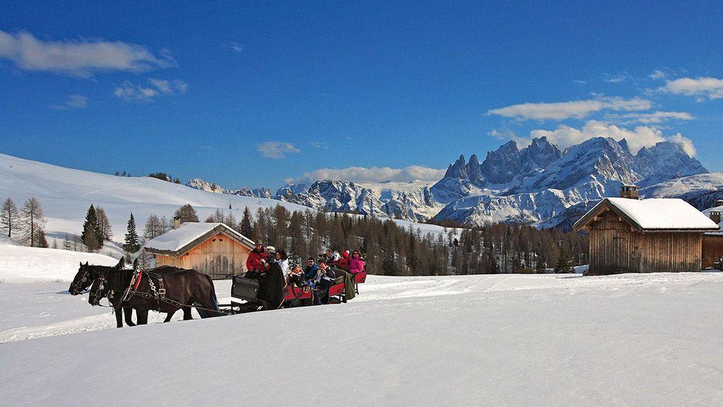 Valle di Fassa, Passo San Pellegrino © Trentino Sviluppo – Dipartimento Turismo e Promozione/Pio Geminiani - Trentino