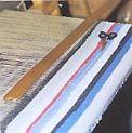 Traditionelle Bändelweberei