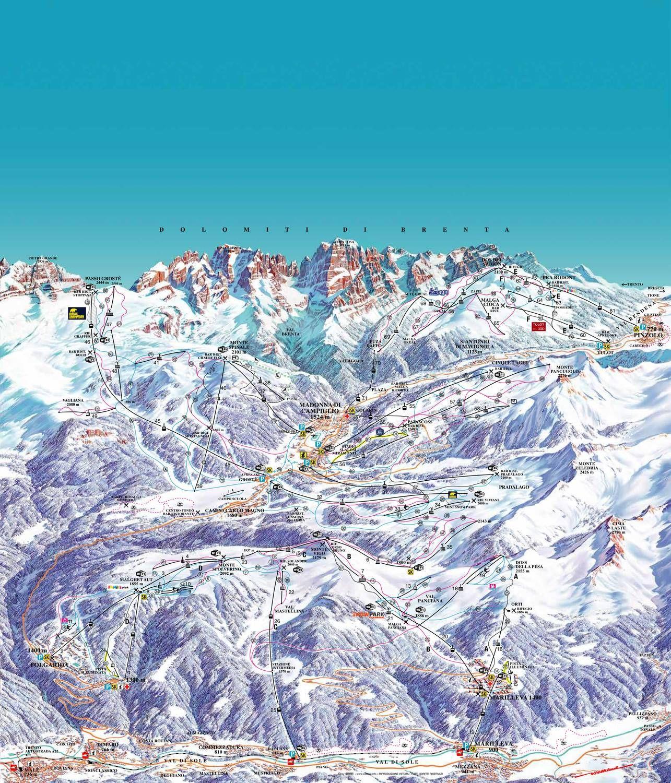 Campiglio Dolomiti di Brenta Madonna di Campiglio