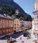 Schlossberg mit Burgruine Rattenberg