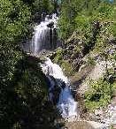 Das Wasserfall von Lenteney