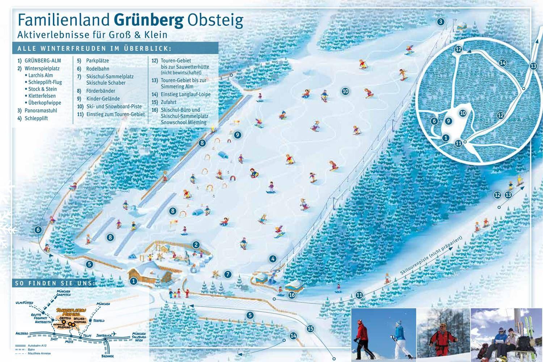 Obsteig - Gruenberglifte Obsteig