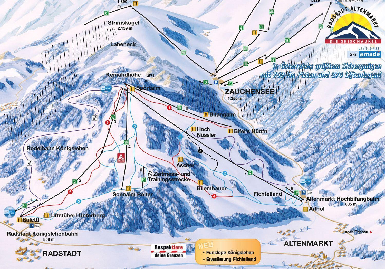 Radstadt-Altenmarkt - Ski amade Radstadt