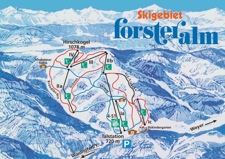 Skigebiet Forsteralm Waidhofen an der Ybbs