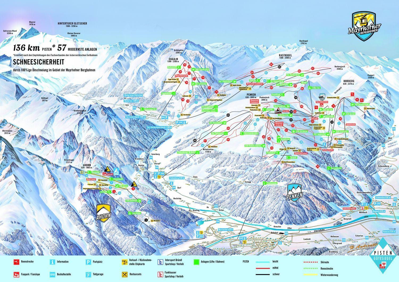 Mayrhofen-Finkenberg-Tux Hippach
