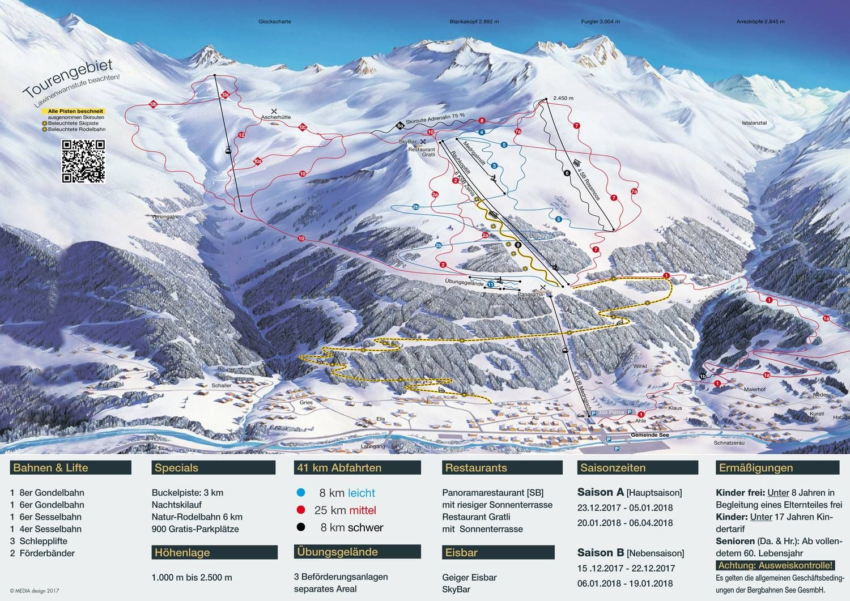 Bergbahnen See - Familien-Skigebiet See