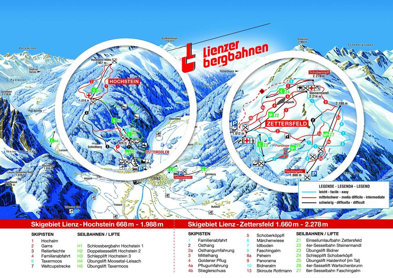 Hochstein - Lienzer Bergbahnen Lienz