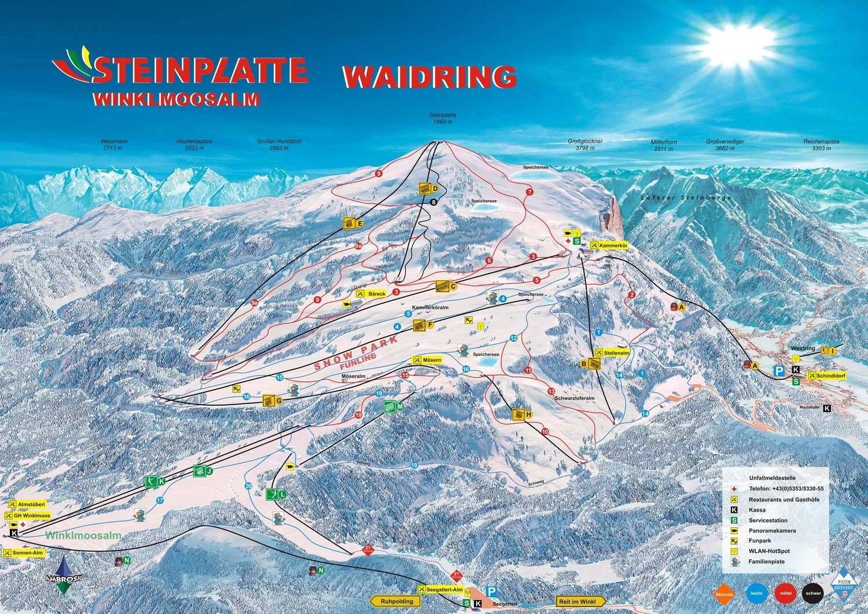 Skiparadies Steinplatte - Winklmoosalm Reit im Winkl