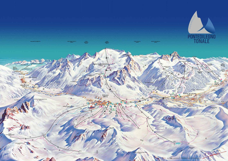 Passo Tonale/Pontedilegno - Adamello Ski Passo del Tonale