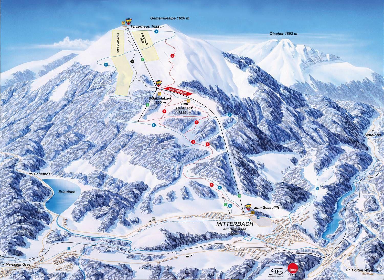 Bergbahnen Mitterbach Gemeindealpe Mitterbach am Erlaufsee