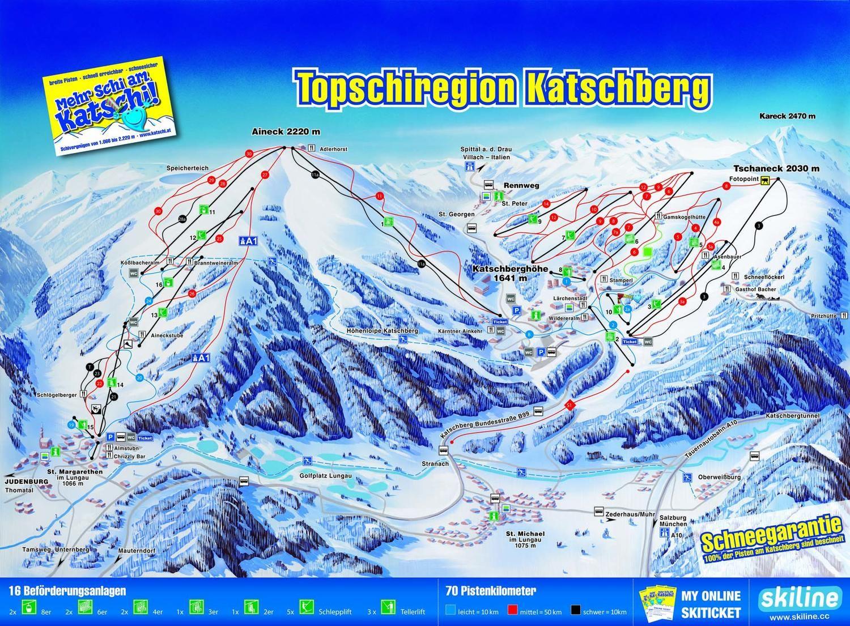 Topskiregion Katschberg St. Michael im Lungau