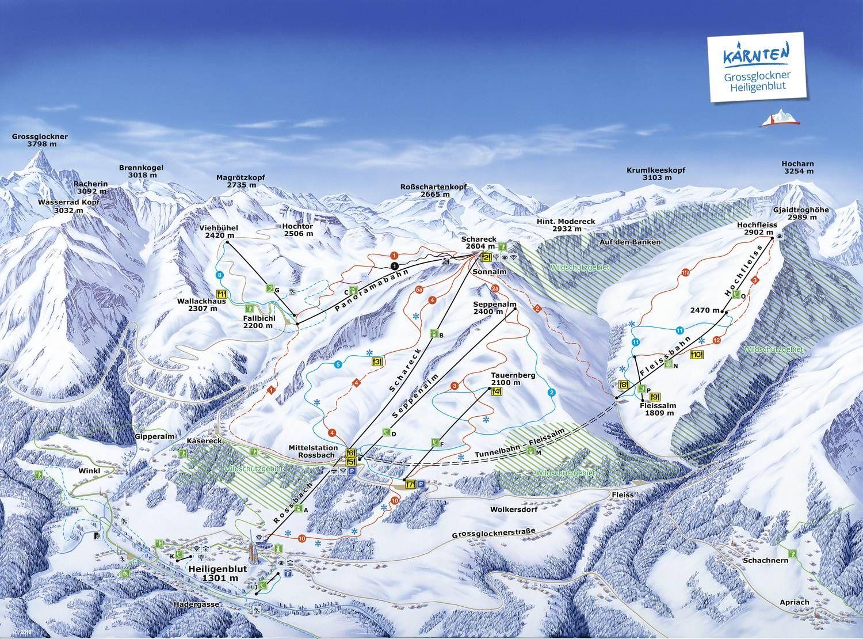 Skigebiet Grossglockner/Heiligenblut Heiligenblut