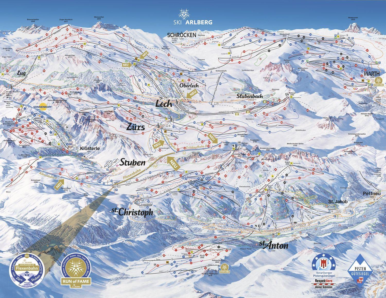 St. Anton / St. Christoph / Stuben - Ski Arlberg St. Anton am Arlberg