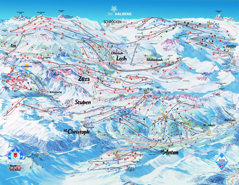 Lech-Zuers-Warth-Schroecken Lech am Arlberg
