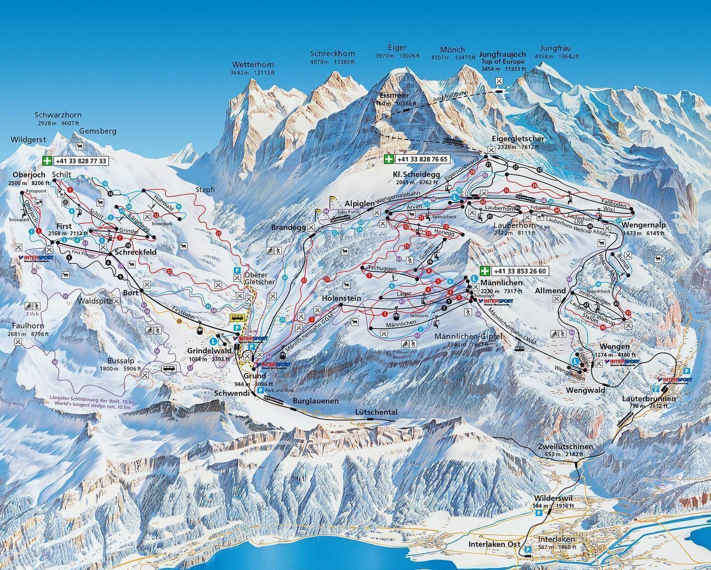 Maennlichen-Kleine Scheidegg Grindelwald