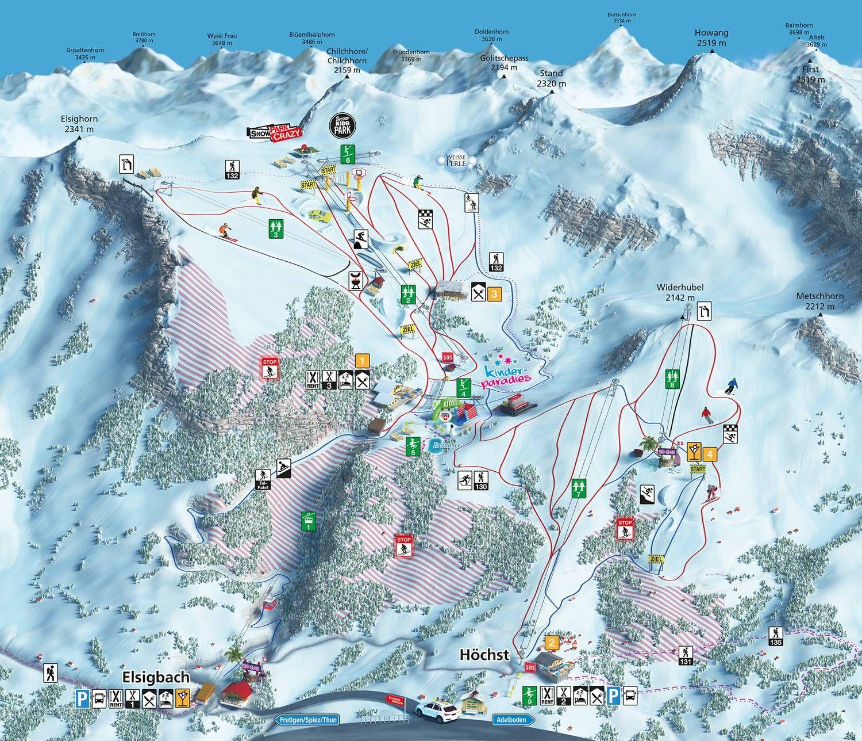 Skizentrum Elsigen- Metsch Frutigen Frutigen