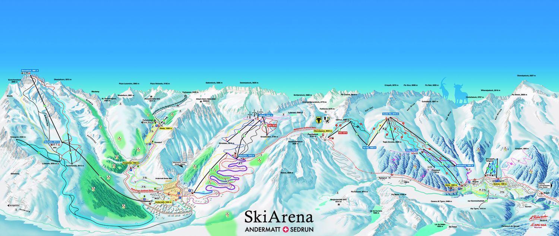 Gotthard Oberalp Arena Sedrun