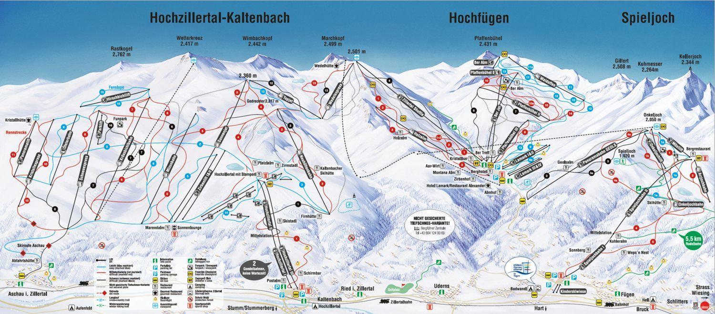 Ski-Optimal Hochzillertal / Hochfuegen Fuegenberg / Hochfuegen