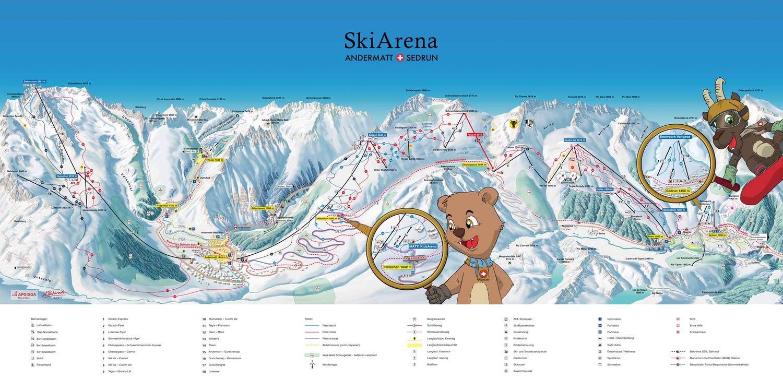 SkiArena Andermatt-Sedrun Sedrun