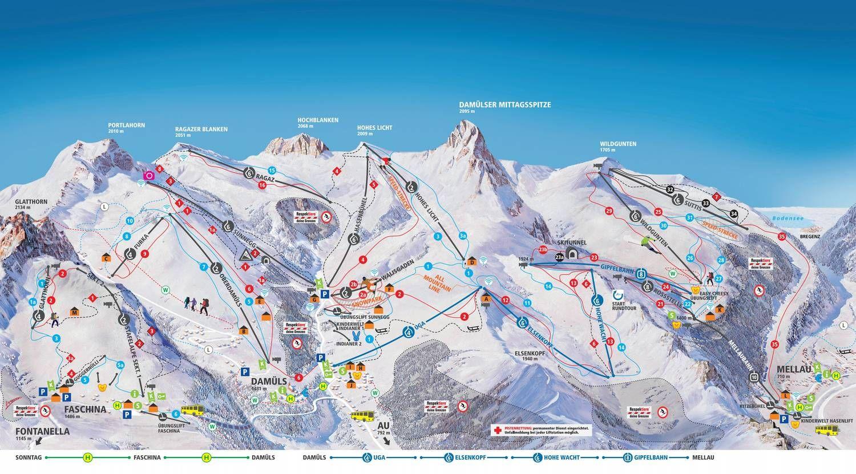 Skigebiet Faschina Fontanella/Faschina
