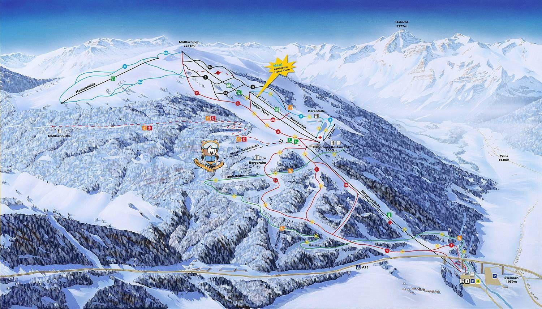 Ski- und Freizeitarena Bergeralm Steinach